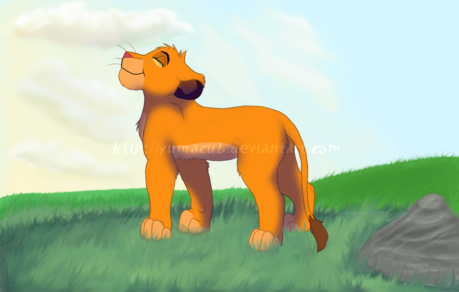 Proud Simba by Yumacub