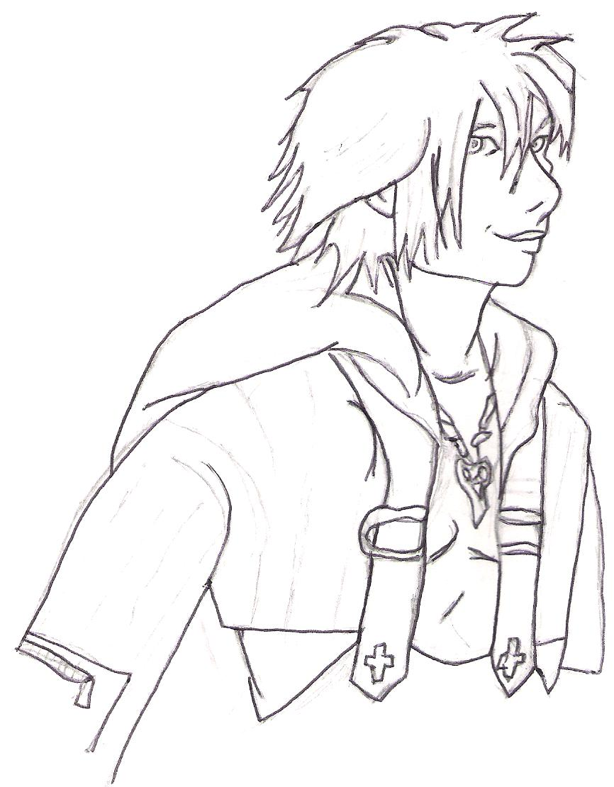 Not ANOTHER Tidus pic! by YunaMcGrath