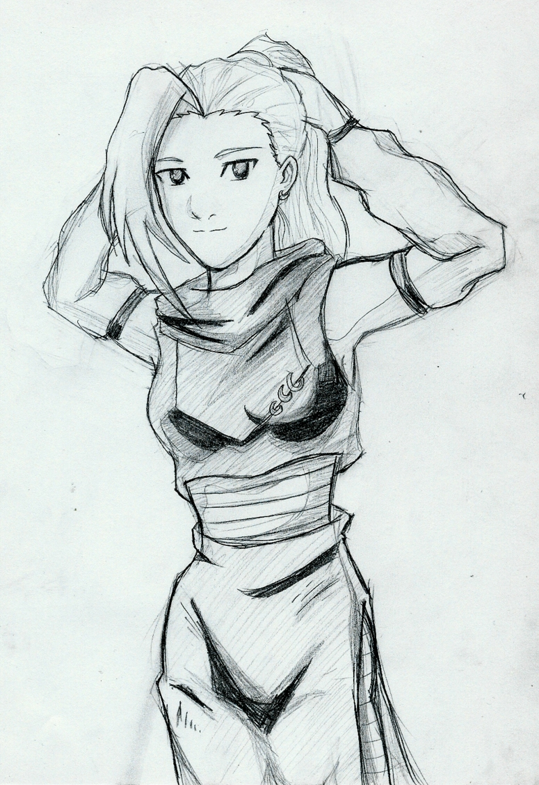Ino Sketch by YuriLuvHer