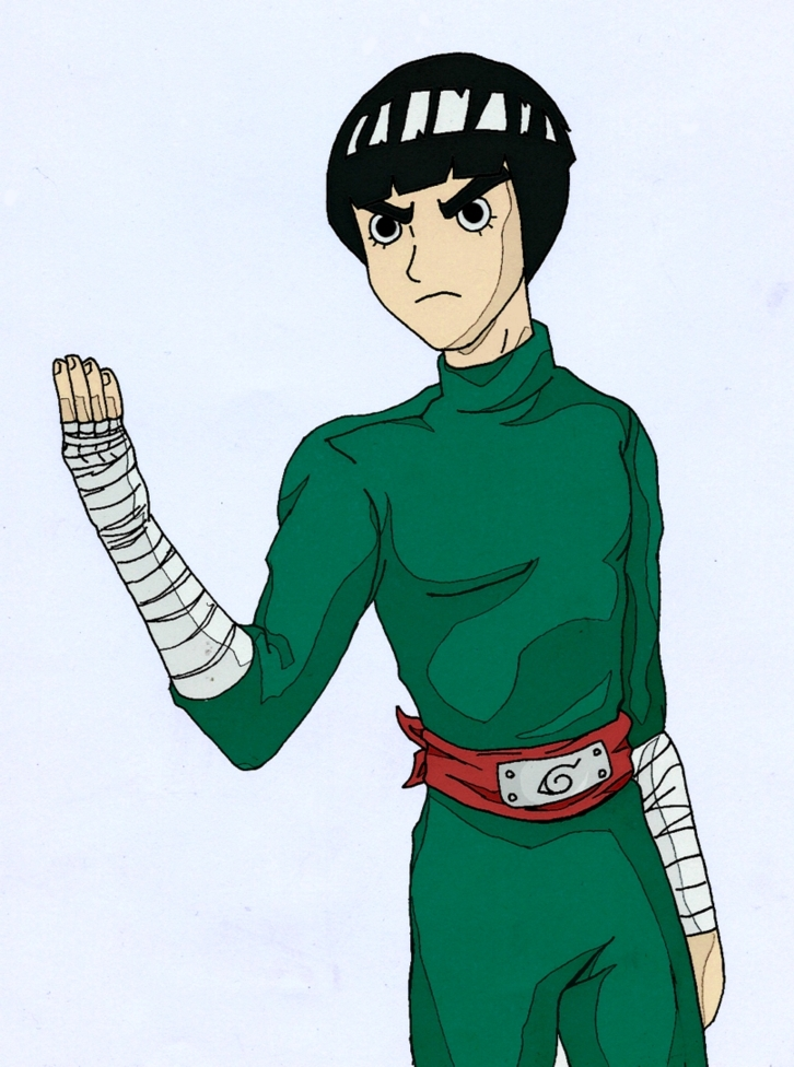 Rock Lee Colored by YuriLuvHer