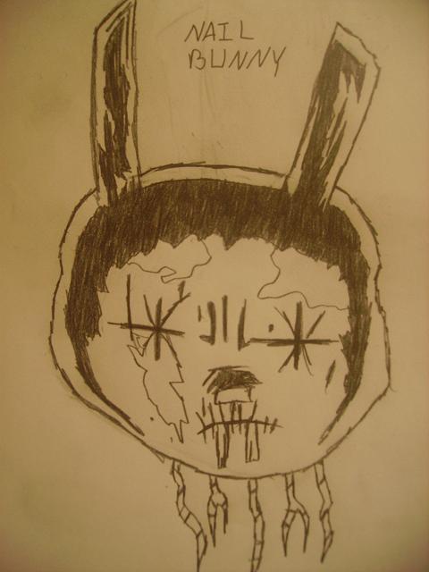 Nail Bunny by YuriUsagimaru