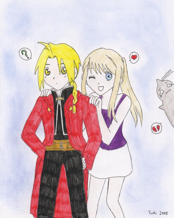 Ed + Winry = by Yushi
