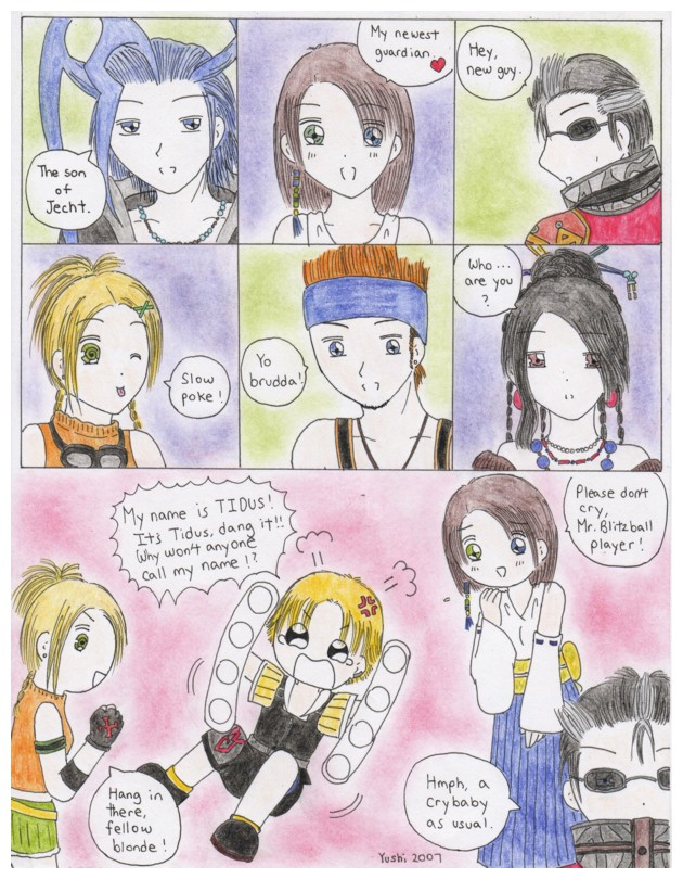 FFX Frustration comic by Yushi