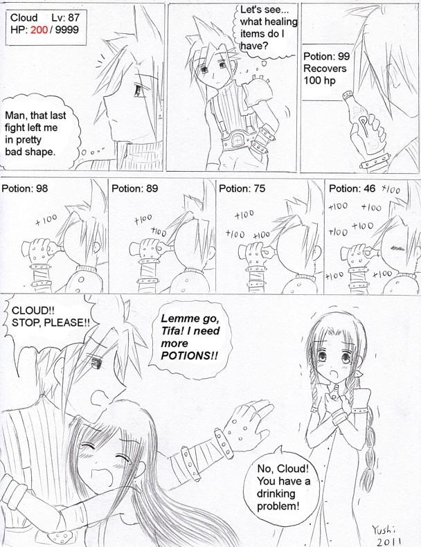 FF7: Addiction by Yushi