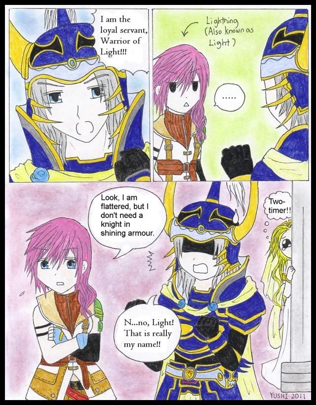 Dissidia 012: Warrior of LIGHT by Yushi
