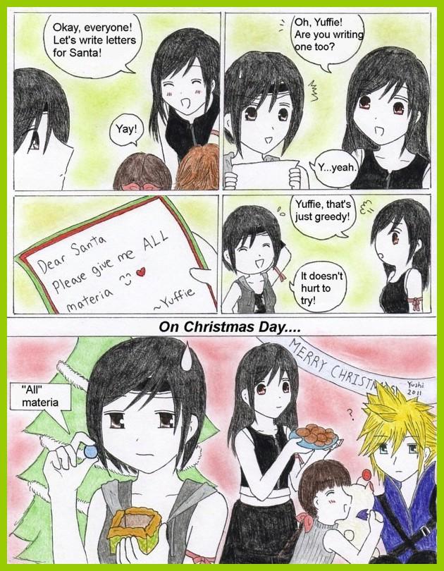 FFAC Christmas comic by Yushi