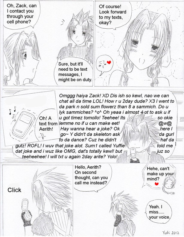 Crisis Core: Text Messages by Yushi