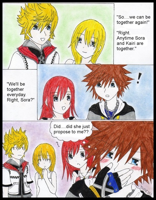 KH2: To be together by Yushi