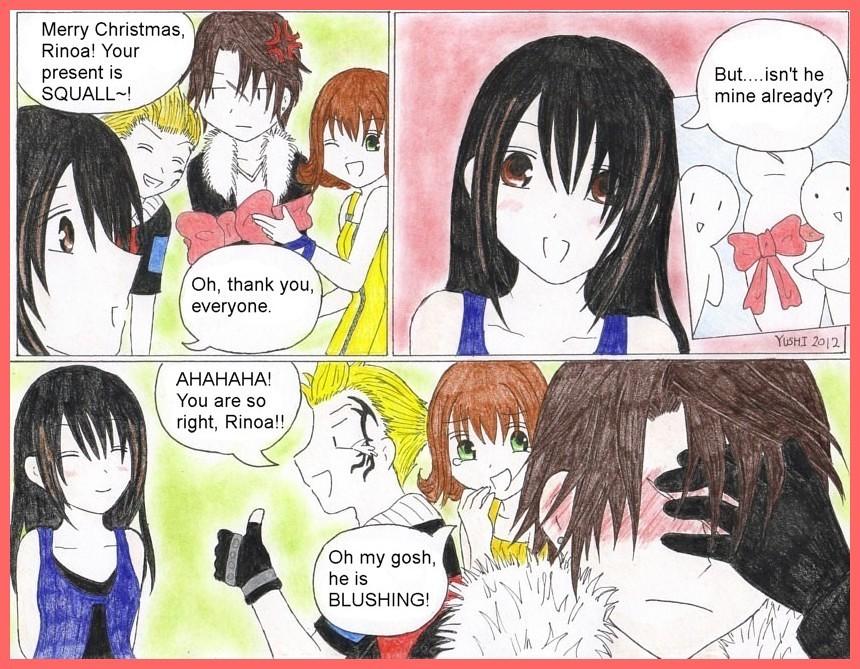 FF8: Christmas present by Yushi