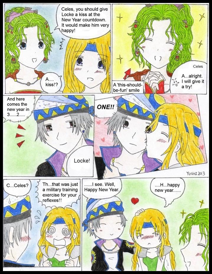 FF6: New Years kiss by Yushi