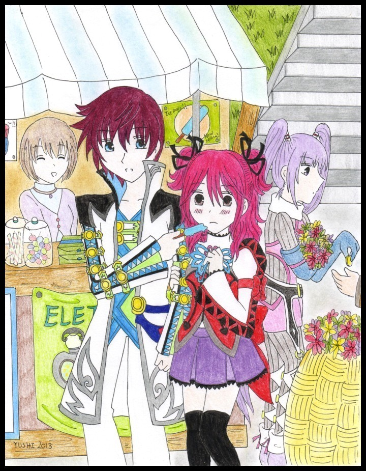 Tales of Graces F - Of ice pops and flowers by Yushi