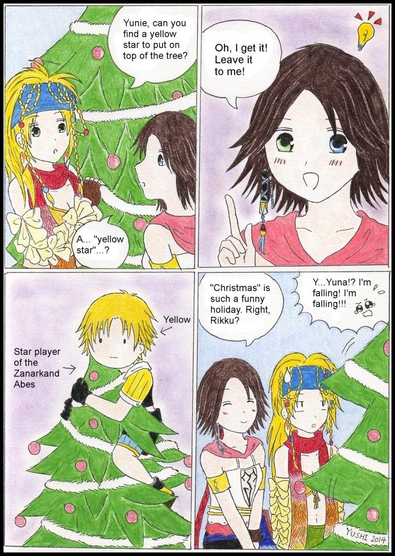 FFX-2: Christmas topping by Yushi