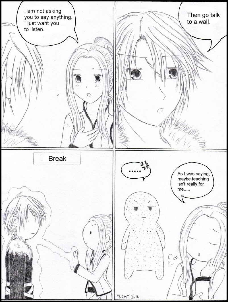 FF8 - Like talking to a wall by Yushi