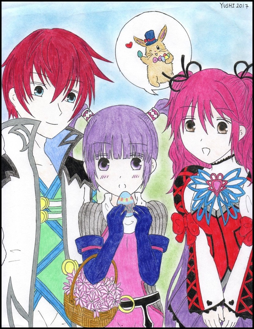 Tales of Graces - Easter Egg by Yushi