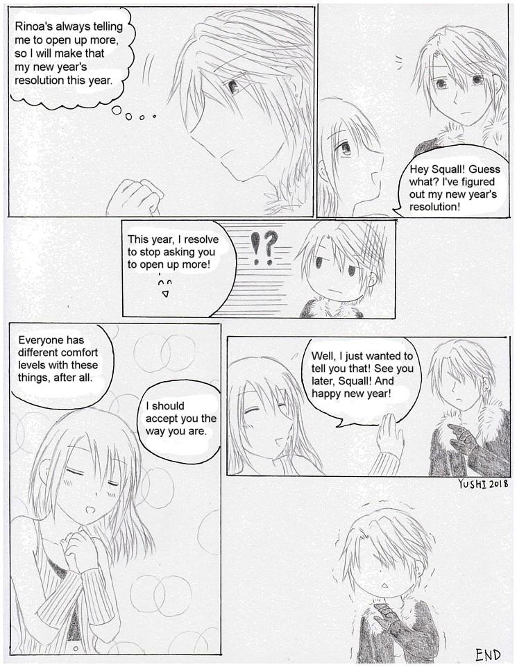 FF8 - New Year Resolution by Yushi