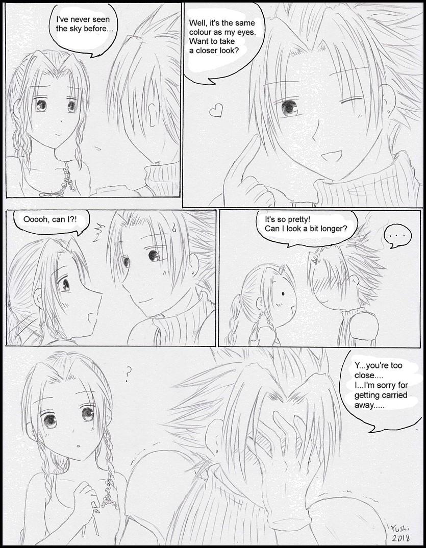 FF7 - Mako eyes by Yushi