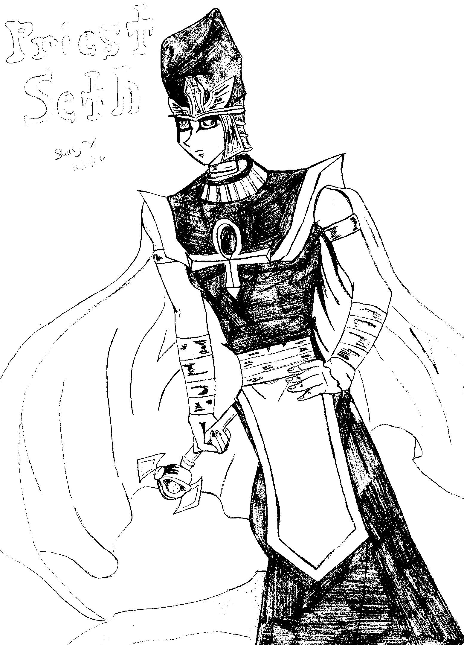 Priest Seto by yamixkaiba