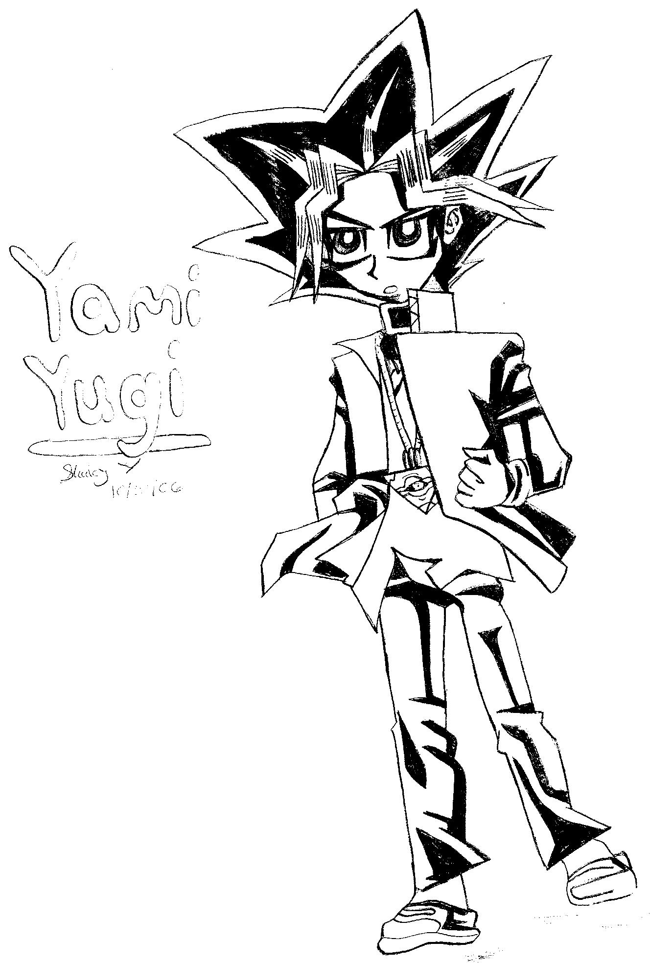 Yami Standing by yamixkaiba