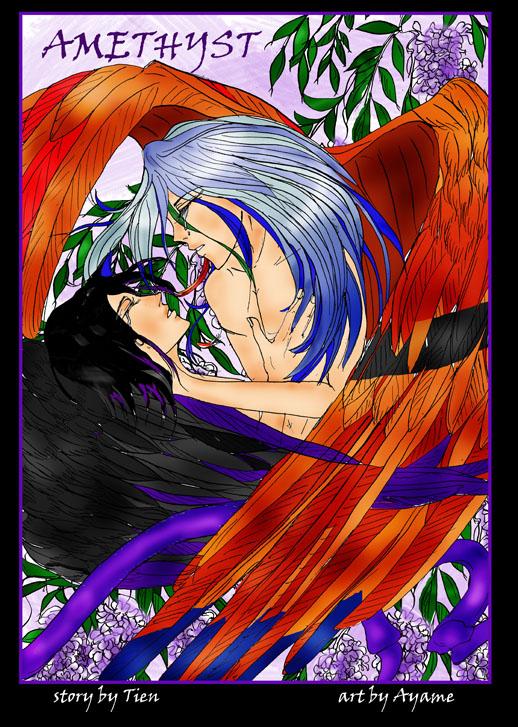 Amethyst Doujinshi Cover *yaoi* by yaoimakestheworldgoround