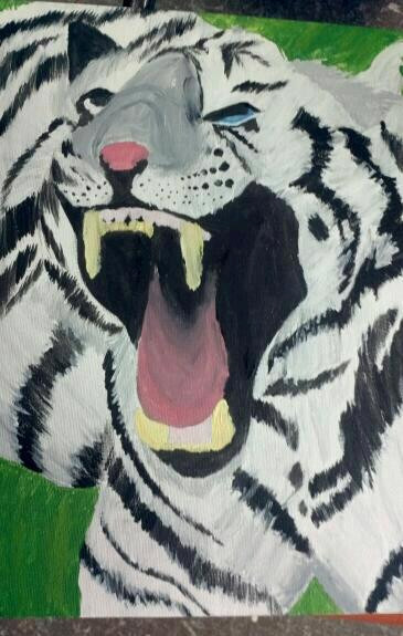 Tiger Painting by yuai77