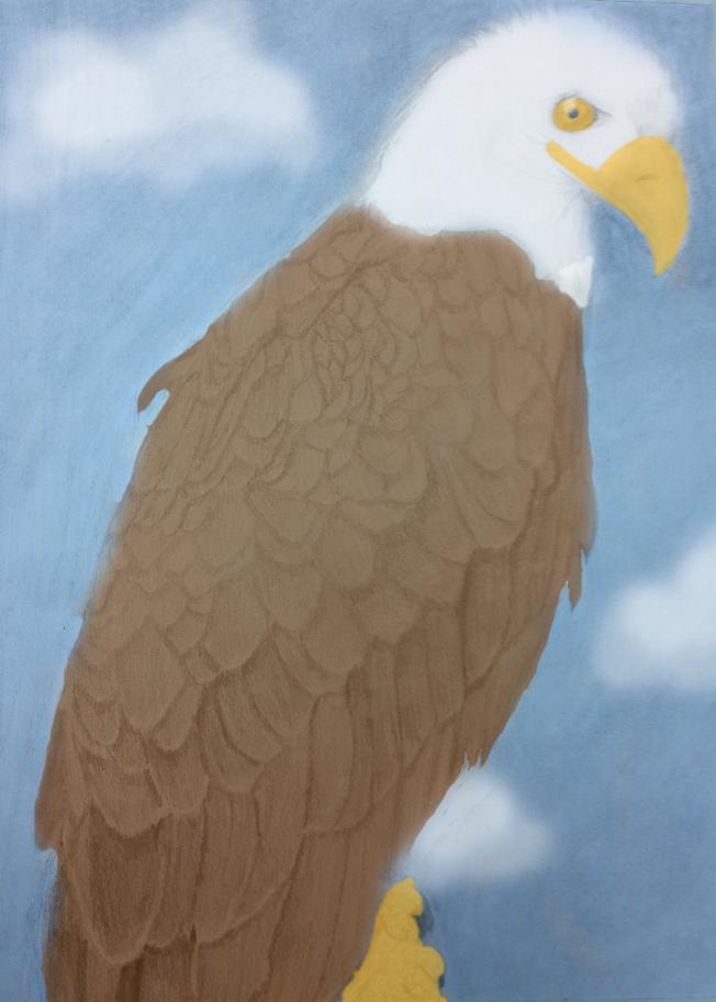 Eagle(Colored) by yuai77