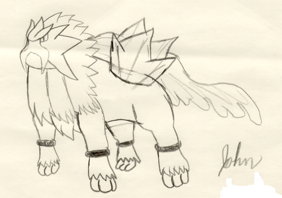 Entei's thoughts by yugiultimate2004