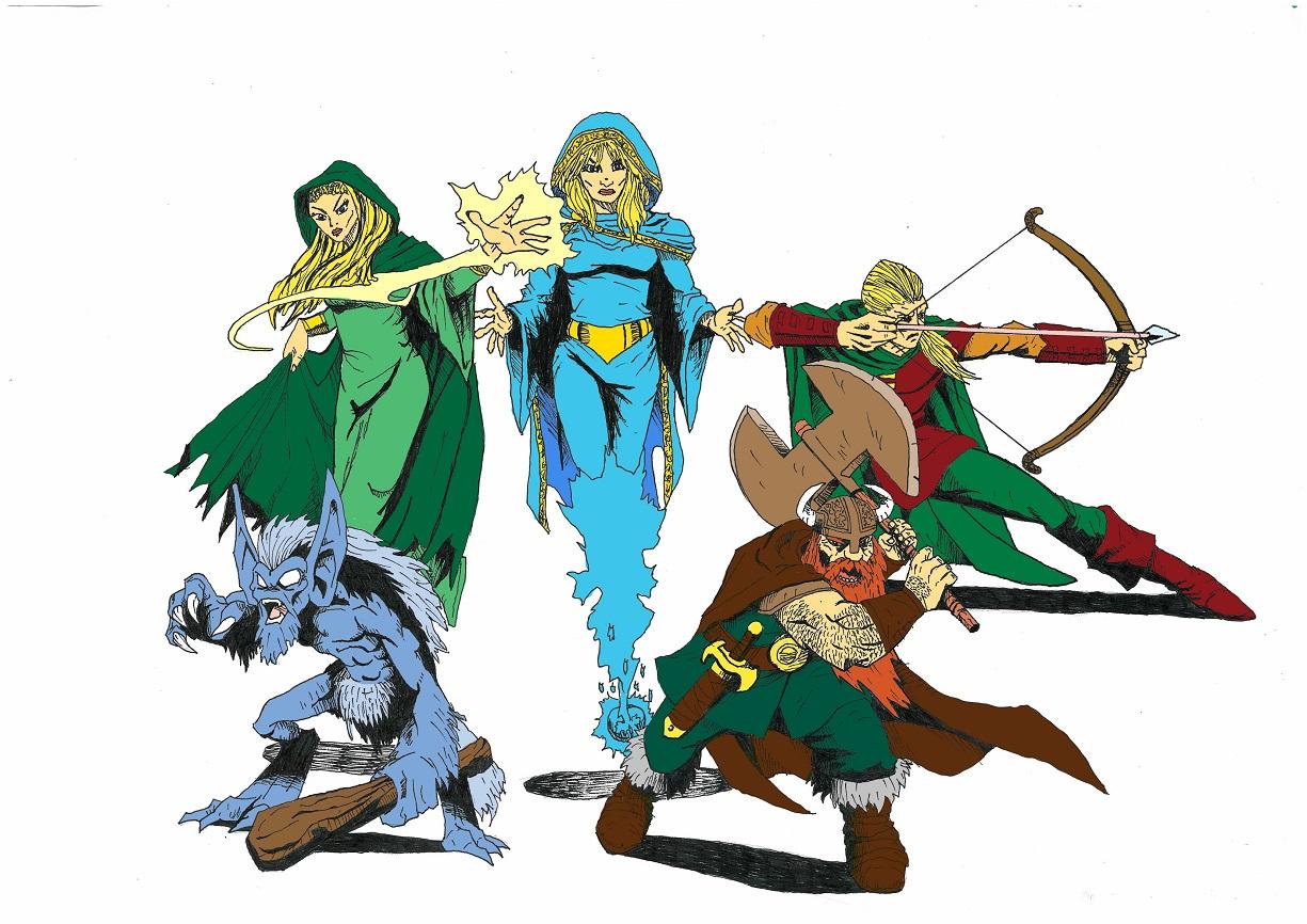 Band of Fantasy Heroes continuation by Zaara