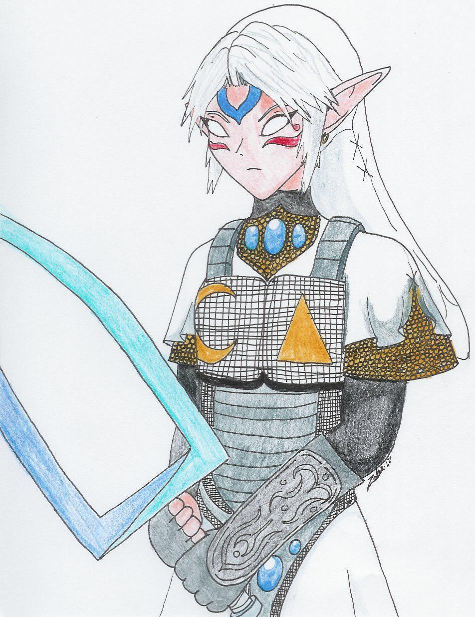 OniLink Twilight Princess style by Zalia13