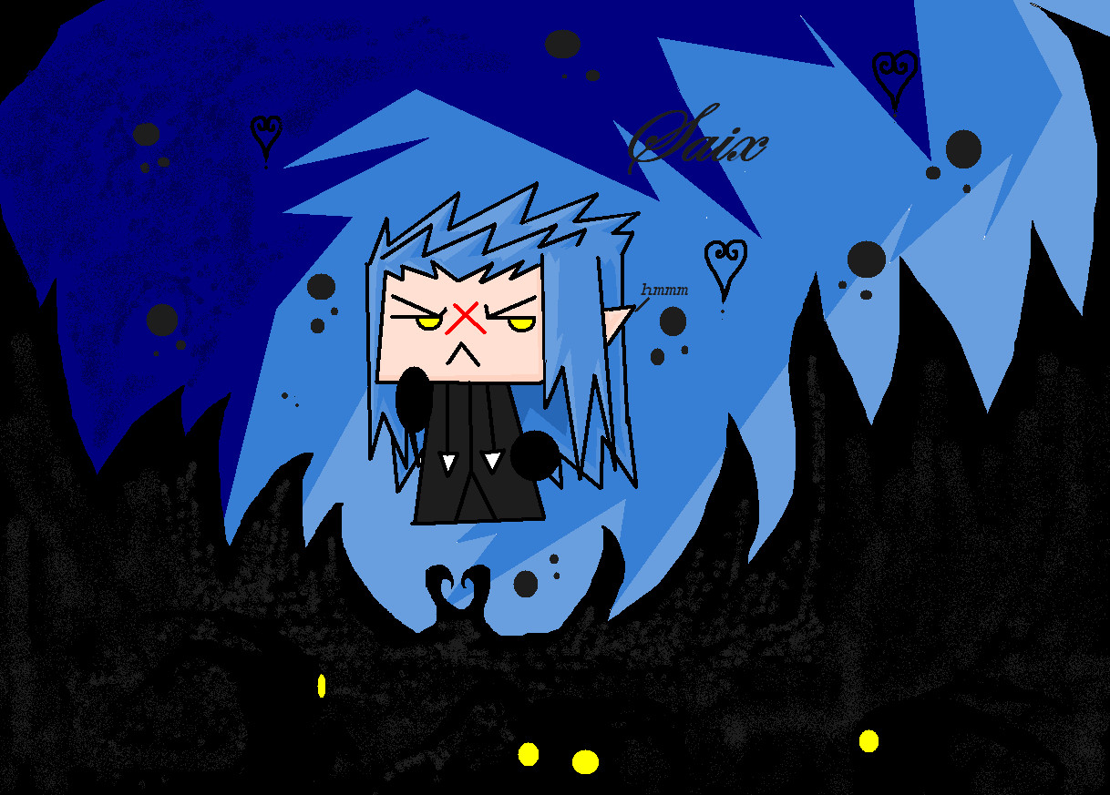 Saix wallpaper by ZaneDragon102