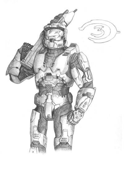 The Master Chief by Zapata80