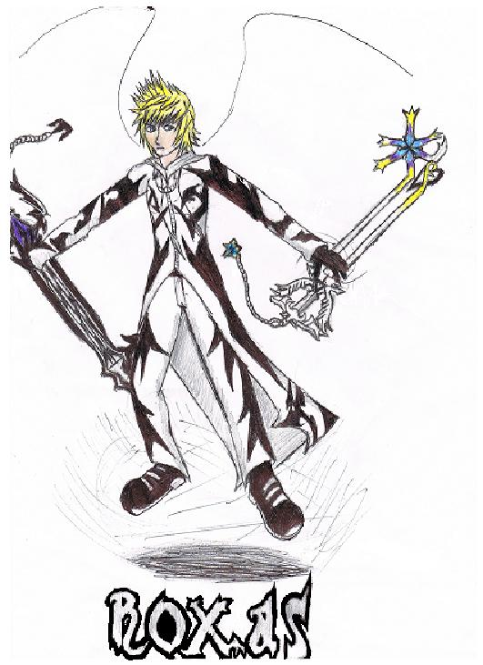Roxas' Final Form {2010 Version} by ZaronNitro