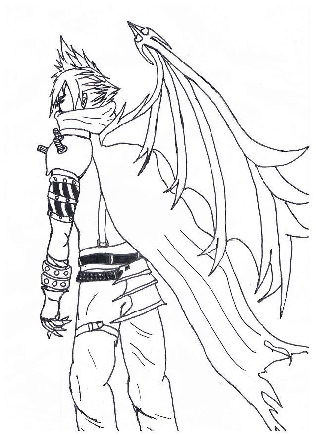 Cloud (Kingdom Hearts) by ZaronNitro