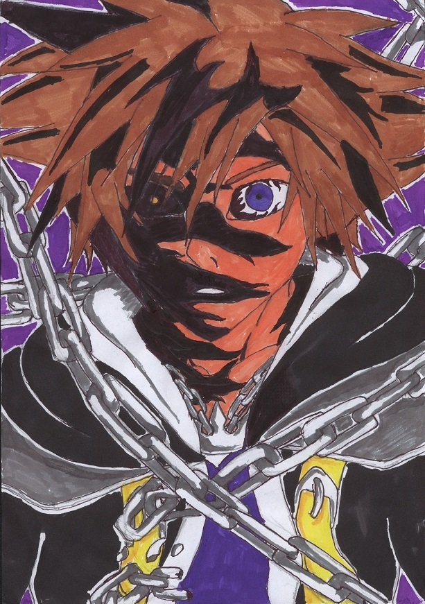 Sora's Corruption by ZaronNitro