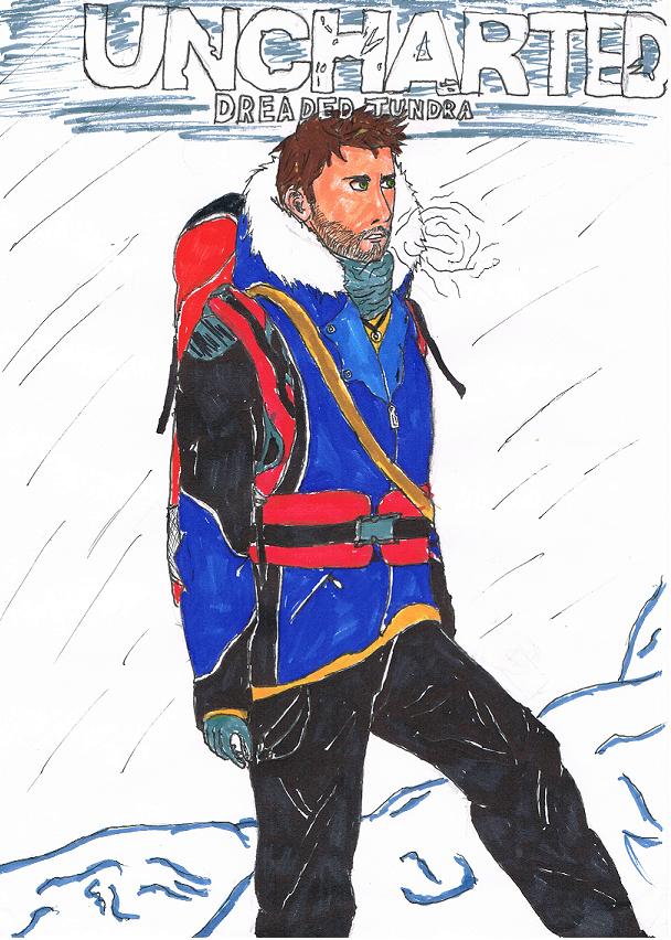 Nathan Drake (Uncharted: Dreaded Tundra) by ZaronNitro