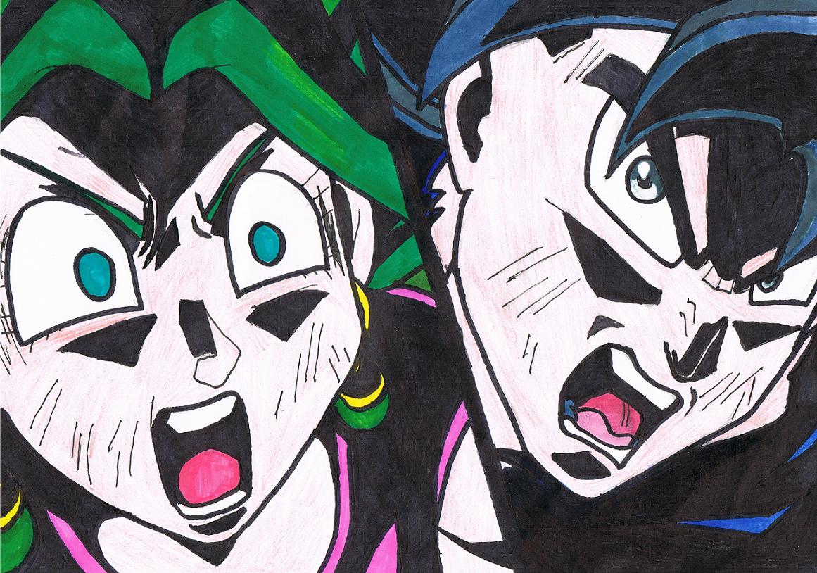 Goku Vs Kefla (Dragon Ball Super) by ZaronNitro