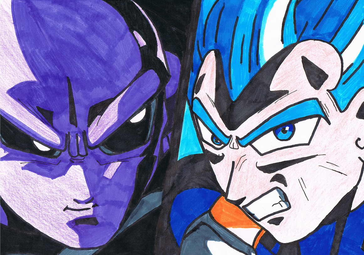 Vegeta Vs Jiren - Dragon Ball Super by ZaronNitro