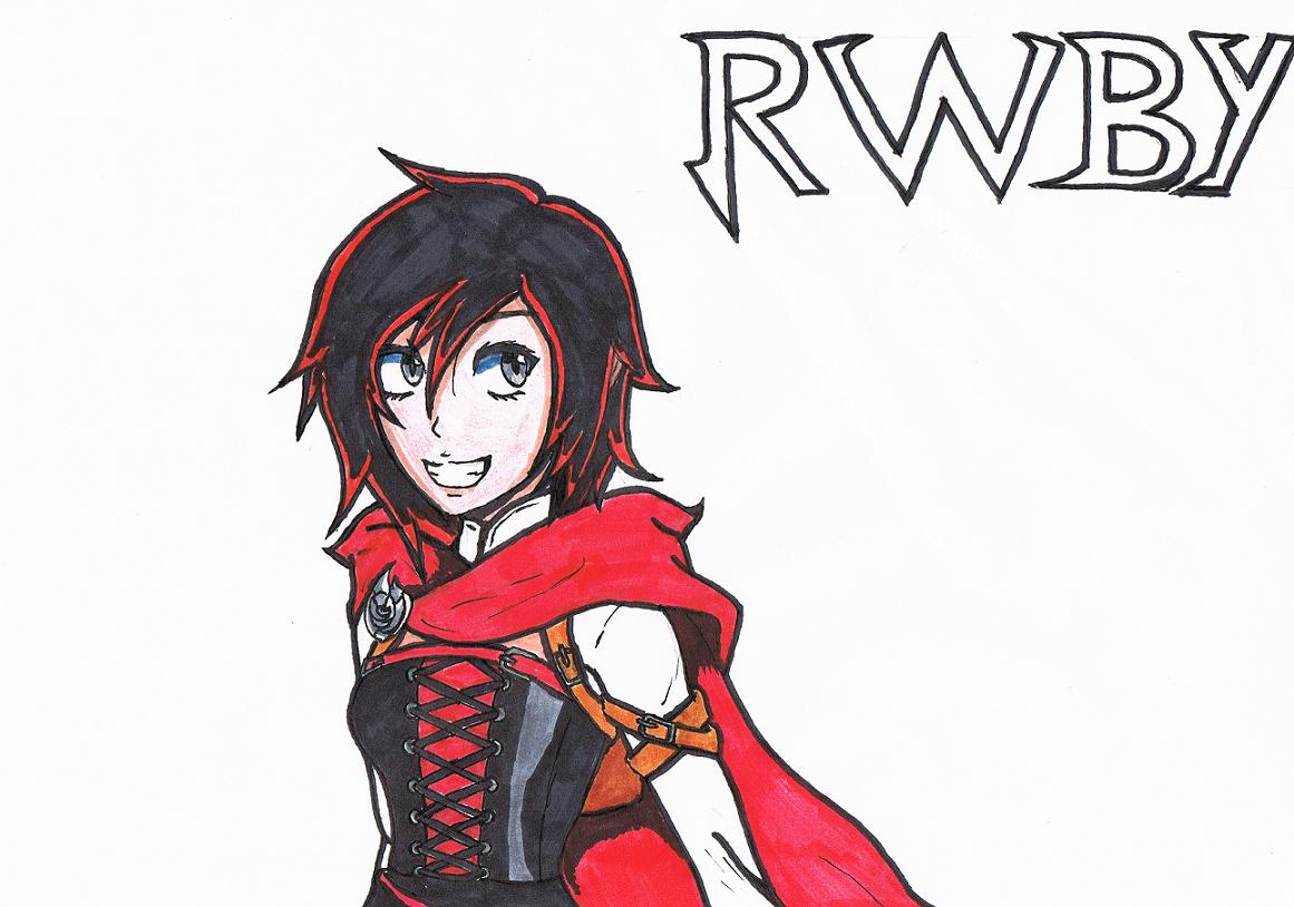 Ruby Rose - RWBY by ZaronNitro