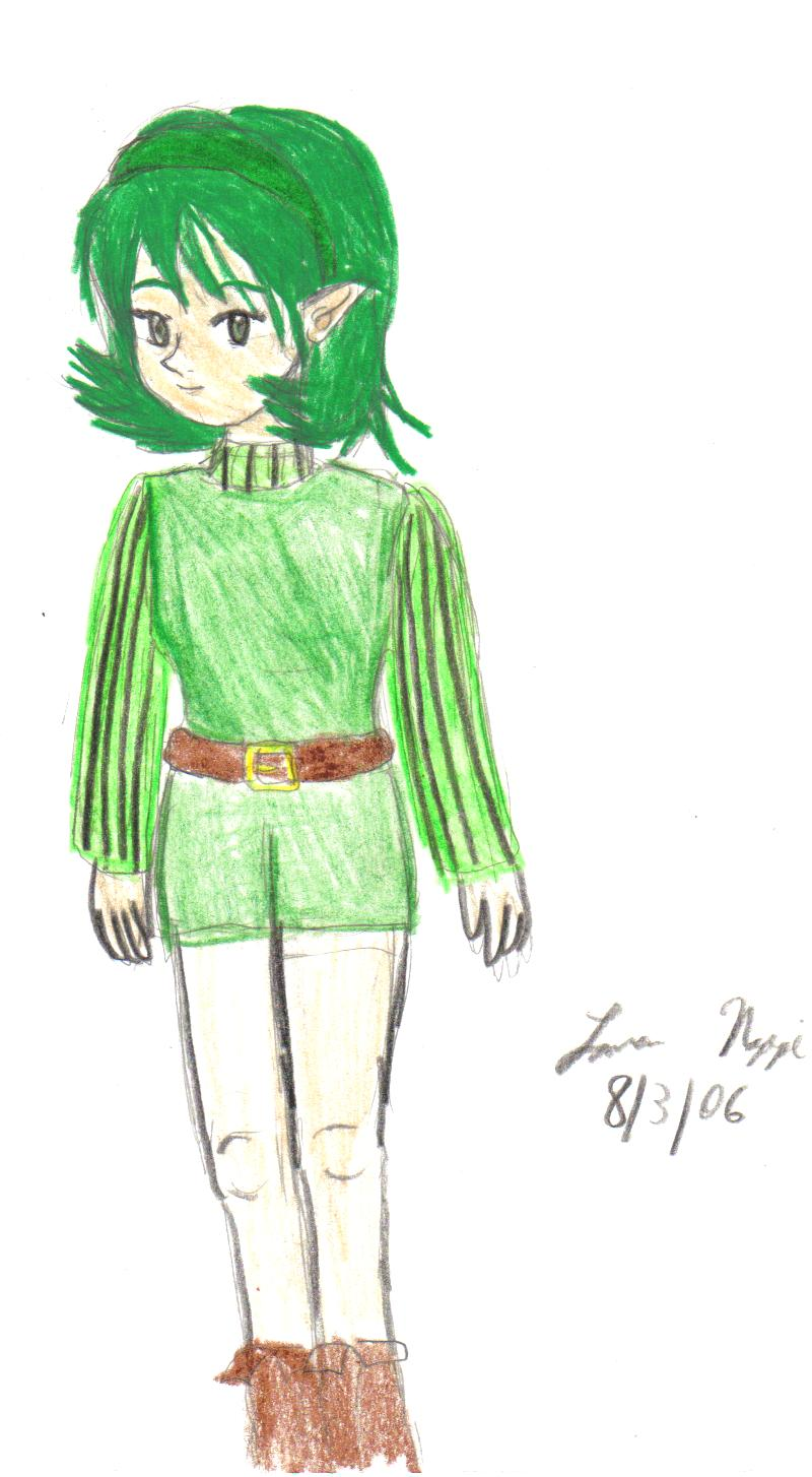 Saria(finished) by ZeldaGirl9793