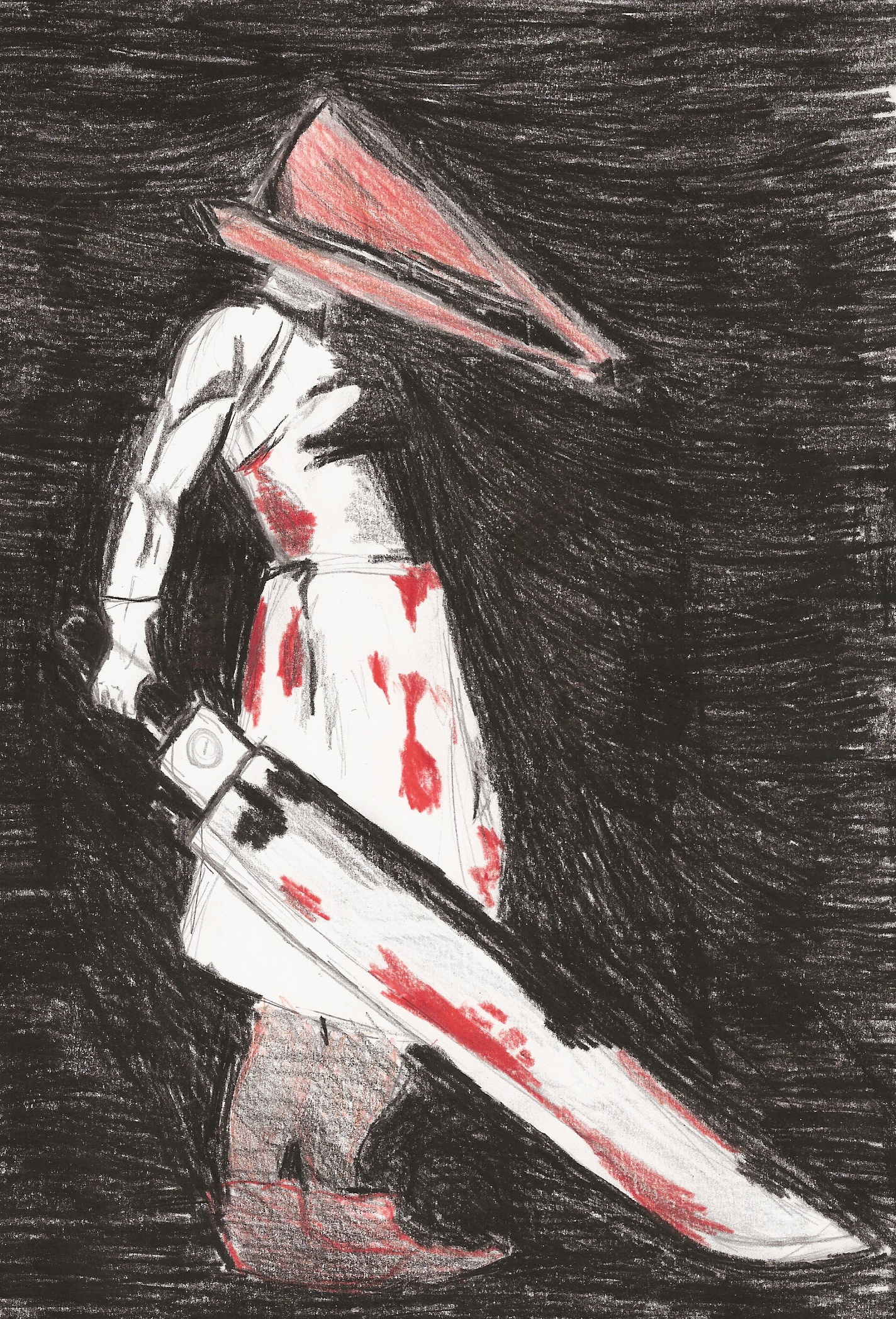 Pyramid head by ZeldaGirl9793