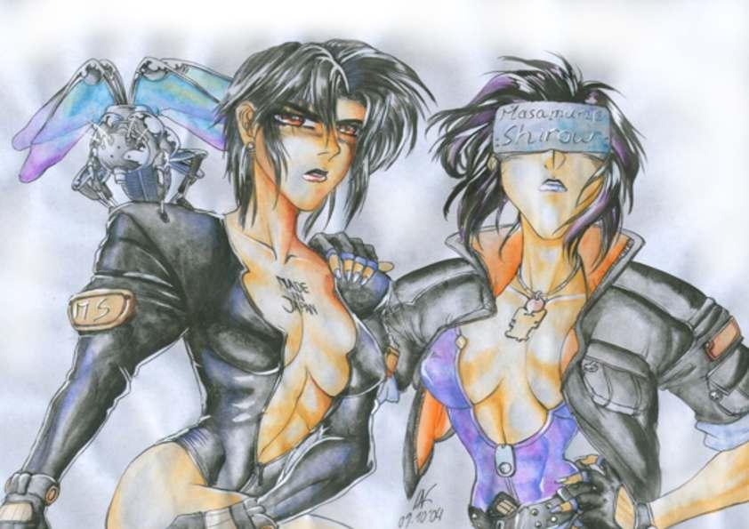 Masamune Shirows gals by Zelgadiss_da_Hardcorepunk