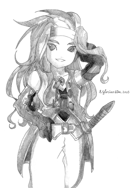 Chibi Zelos (scanned) by Zelos_Lover