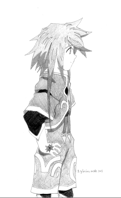 Genis (scanned) by Zelos_Lover