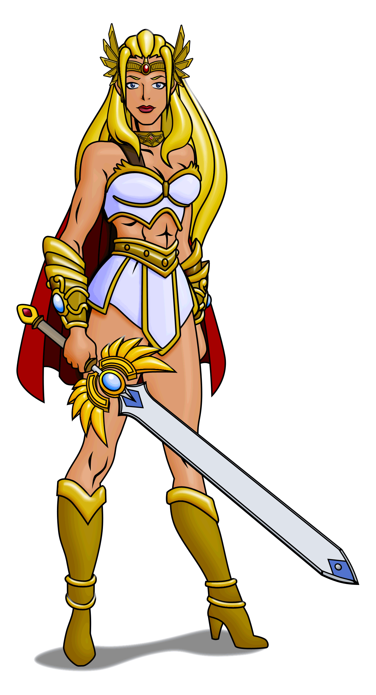 She-Ra Redesign by Zentron