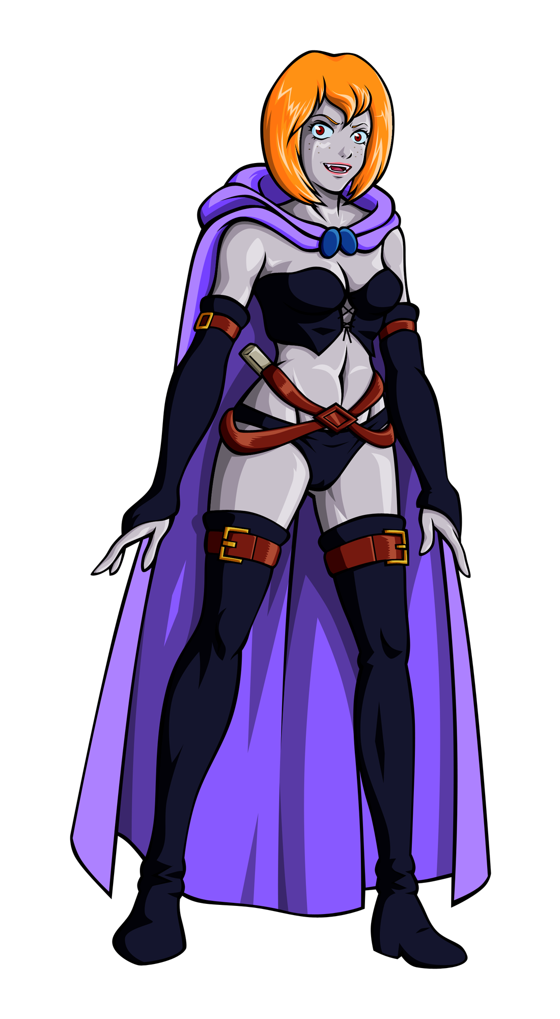 New Vampire Sheila Design - Dungeons & Dragons by Zentron