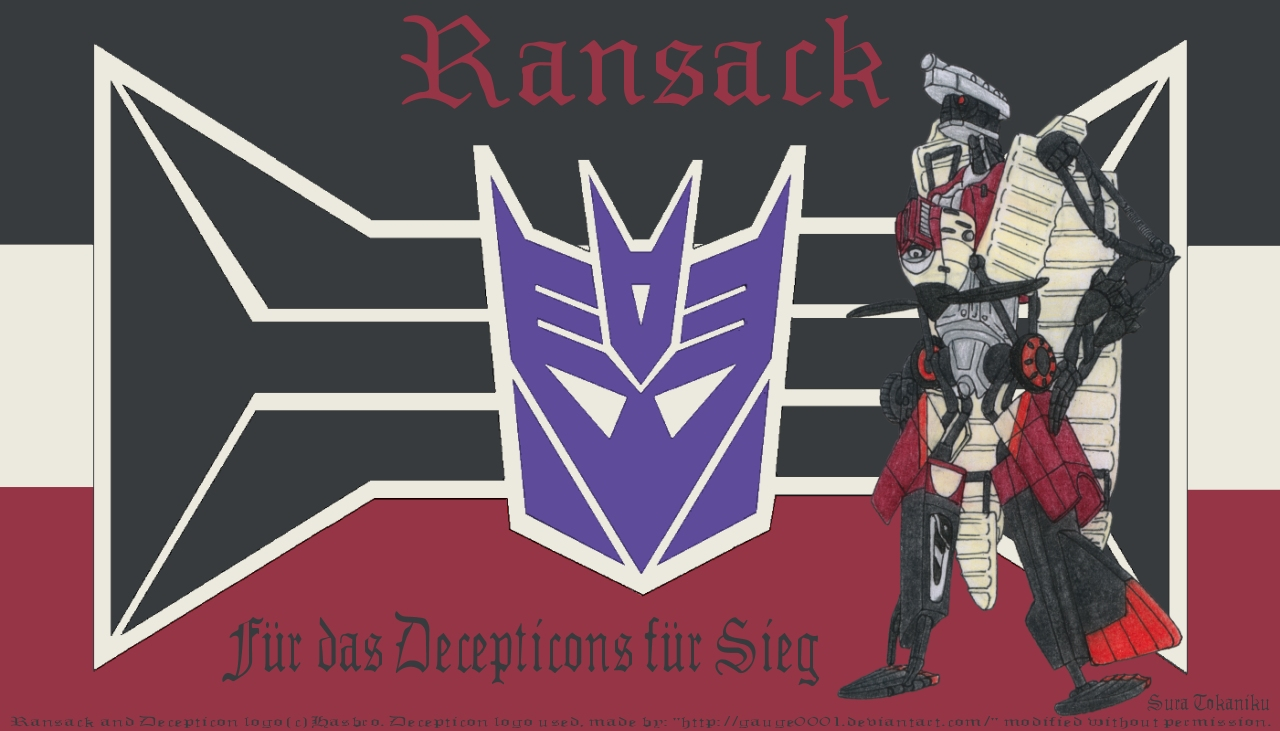 Ransack: Early ace of Cybertron by ZeonicSkunk