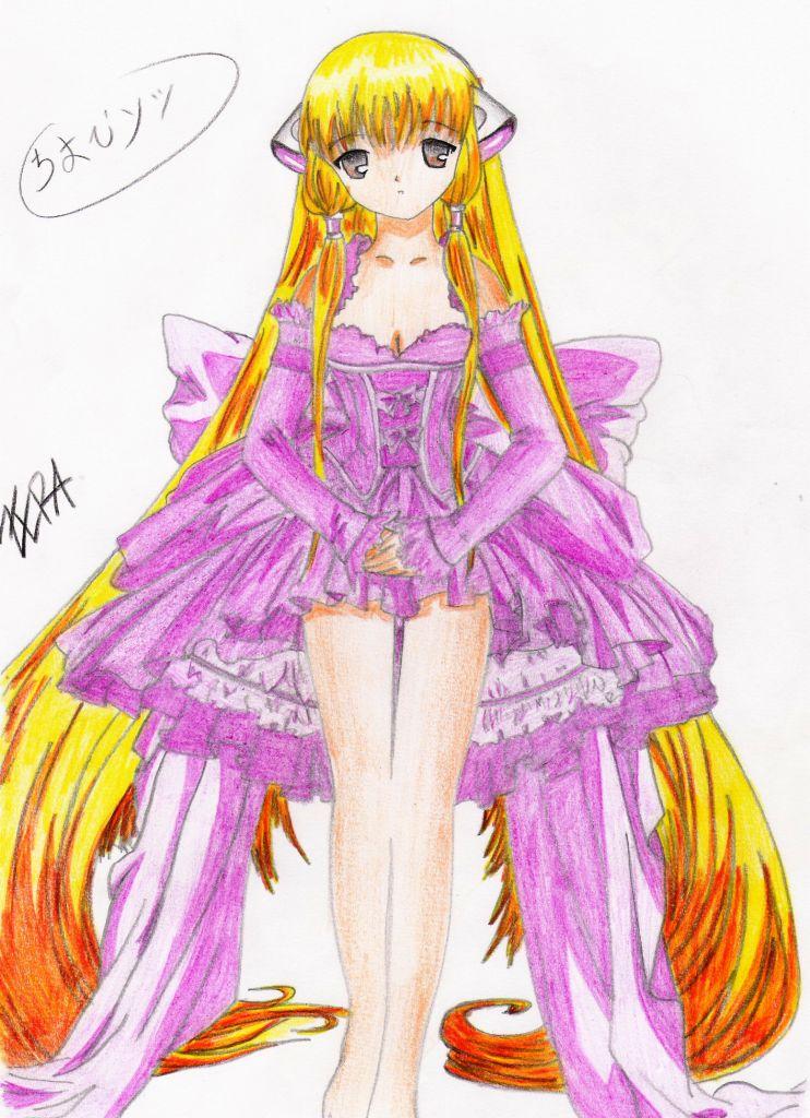 Chii in dress by Zera