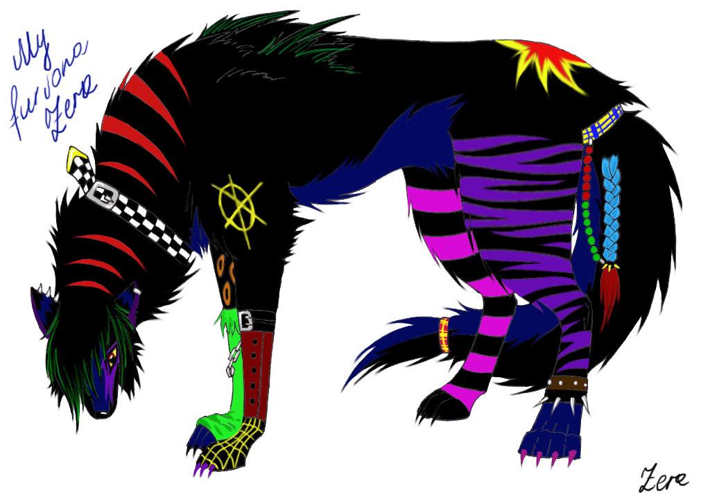 Proud Punk Wolf by Zera