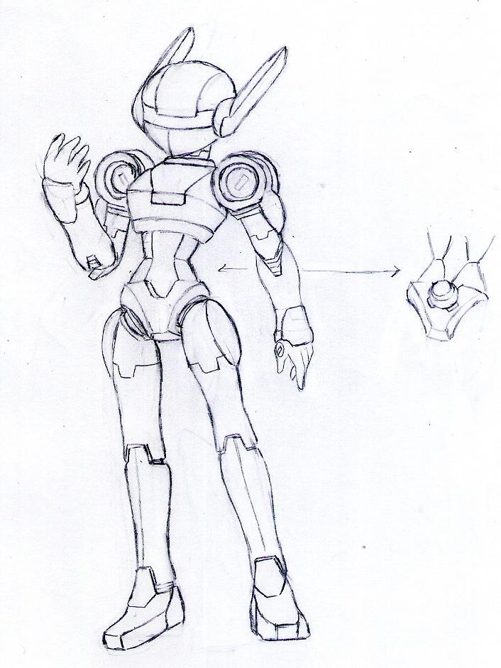 "Samus Aron's ""bunny"" Armor by ZeroMidnight"