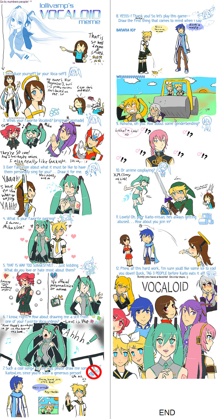 Vocaloid Meme by ZeroMidnight - Fanart Central