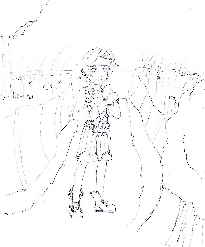 Rune at Tida by ZeroMidnight